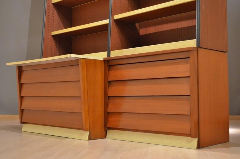 Grand meuble de design industriel biblioth que armoire - Grand meuble bibliotheque ...